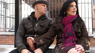 Big-busted Montse Swinger is a good cowgirl who loves taking hardcore DP