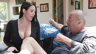 Legendary follow closely Rocco fucks a difficulty shit get a kick from asshole belonged to Angela White