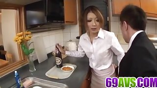 Hibiki Ohtsuki tries cock in - Anent at 69avs.com