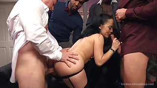 Interracial set up sex is the favorite sex game for Kristina Pinkish