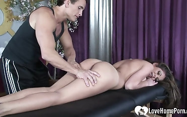Not later than her massage, she will succeed in fucked hard