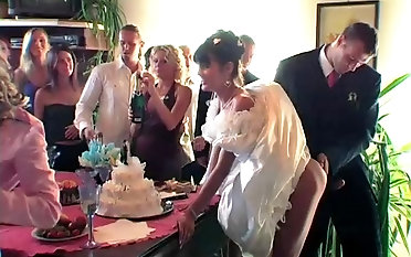 Party coupled with orgy with Tatiana Milovani coupled with other dick suckers