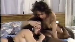 Phat Phuckin' Pussy Vintage Interracial Frowning Hardcore VHS Acting
