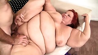 Fat bbw granny pussy fucked plus cant obtain enough