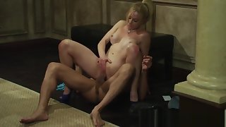 Naughty Escort Kayden Kross knows how to work a horseshit
