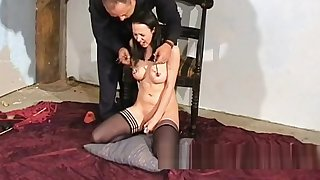Emilys bizarre anal punishment and tit torture for woe