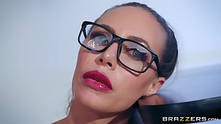 Unusual sex poses are very welcome for piping hot bombshell Nicole Aniston