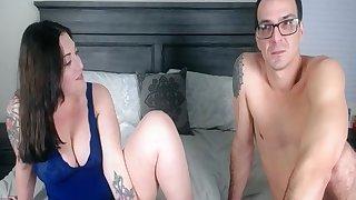 Sexually Carefree Couple Show A Frisky Affectation Live