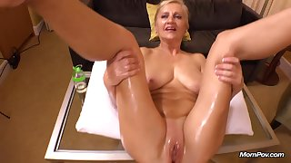 Amelia 50 Year Old Sincere European Comme
