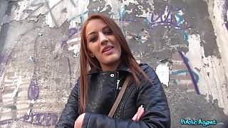 Incomparable Hungarian girl Aylin Diamond fucked in the public place