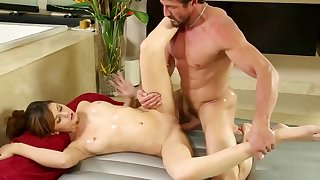nuru rub-down