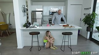 Khloe is a foodie added to she loves fucking merely as much as she loves eating
