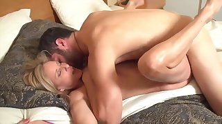 Domineer milf has sex relative to sleepwalking stepson