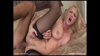 Arousing Mature With Stockings Takes Male Pay attention - Bethany Loved