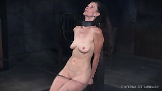 Incredibly voracious young gentleman Paintoy Emma deserves some hardcore BDSM