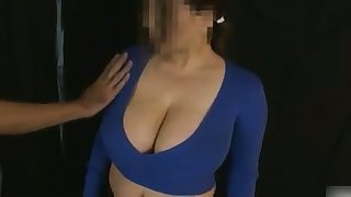 My wife loves milking her huge breasts and her tits are so soft and delicious
