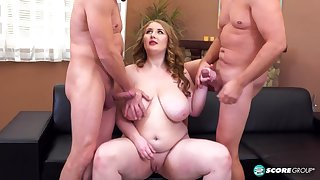 A Three-way Ass Sexual intercourse Party For Tessa Orlov