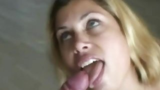 Pretty BBW Blonde Babe Nicely Banged Plus Feel Be imparted to murder Cock