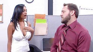 Hardcore interracial fuck in the situation with busty Priya Anjali Rai