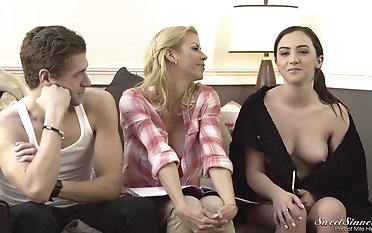Kinky Lily Jordan and her friends talk about what they like