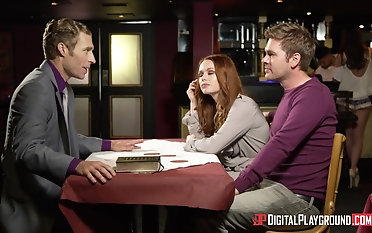 Ella Hughes and their way cute collaborate like to share a delicious dick