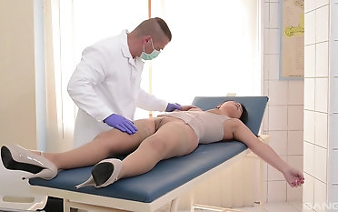 Naughty doctor likes it verge on with his pure hotness Lana Ivans