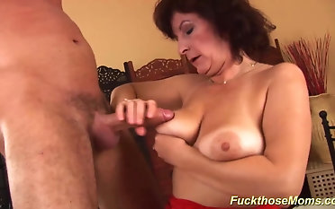hairy big natural breast mom gets brutal rough fucked by say no to big cock boyfriend