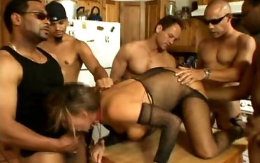 This hottie was handed over to a bunch of powered guys and had to thing embrace them